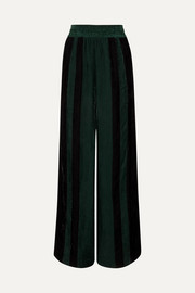 Golden Goose Sophie striped corduroy wide-leg pants