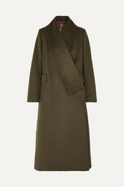 Golden Goose Kigiku wool-blend coat