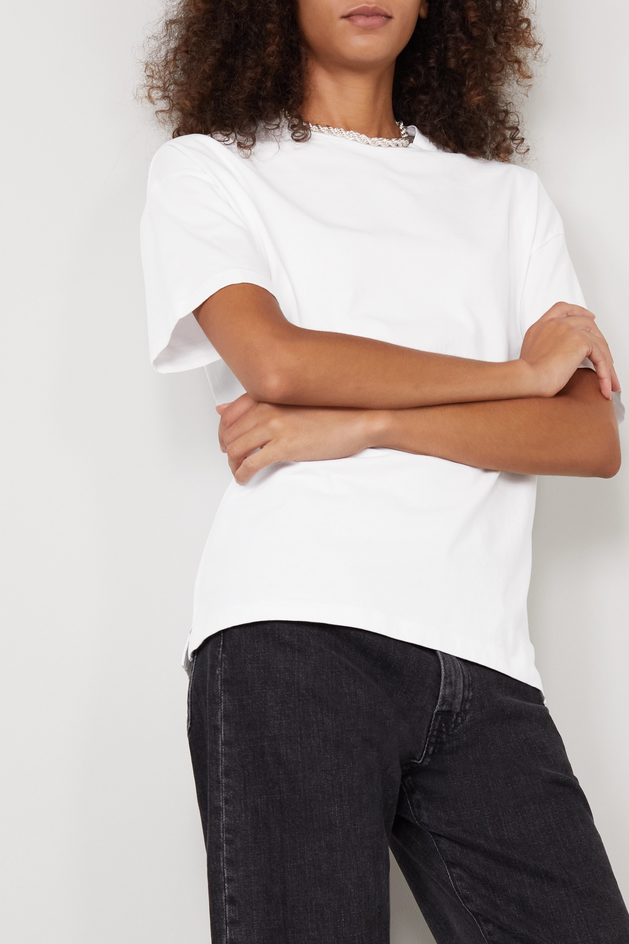 Ninety Percent + NET SUSTAIN Faye oversized organic cotton-jersey T-shirt
