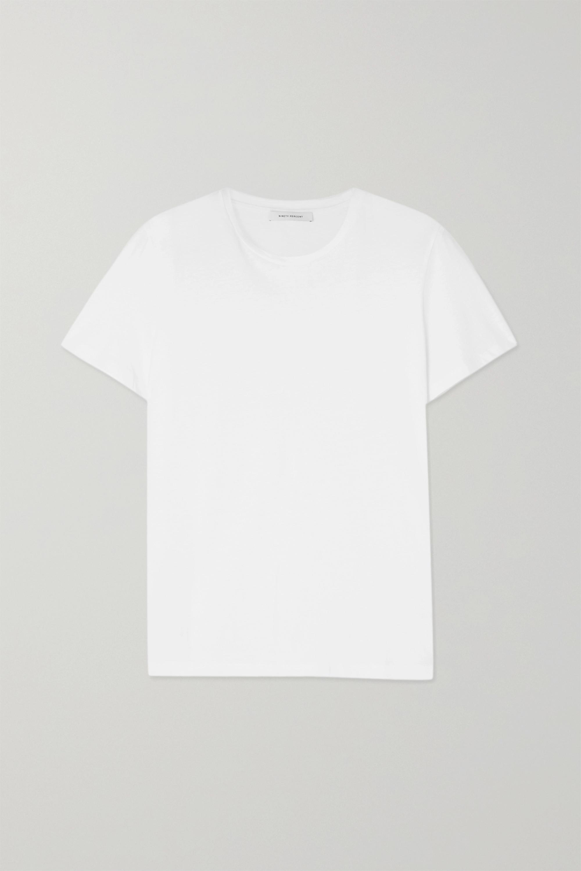 Ninety Percent + NET SUSTAIN Jenna organic cotton-jersey T-shirt
