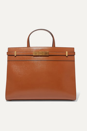 Manhattan small leather tote