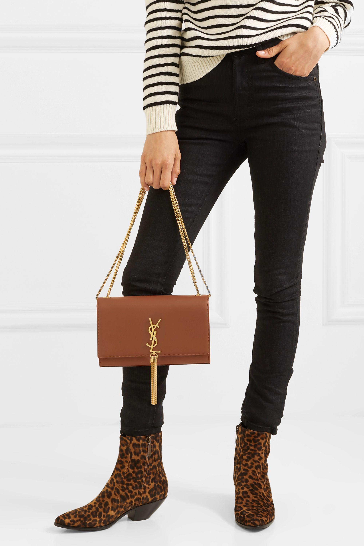 SAINT LAURENT Monogramme Kate large leather shoulder bag