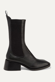 Chloé Bea textured-leather Chelsea boots