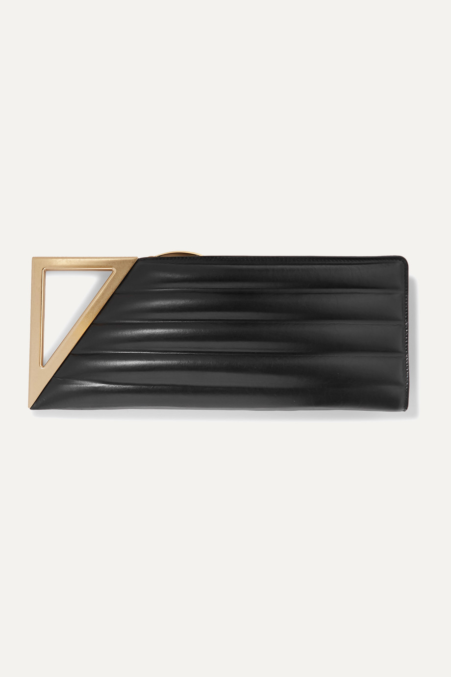 Bottega Veneta BV Rim quilted leather clutch