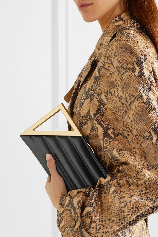 Bottega Veneta BV Rim quilted leather clutch