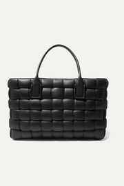 Cabas medium intrecciato padded leather tote