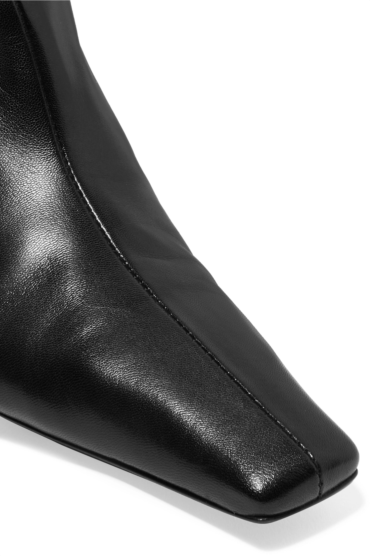 Khaite Leather knee boots