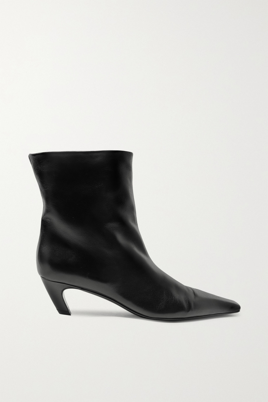 Khaite Leather ankle boots
