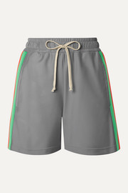 Gucci Reflective stretch-jersey shorts