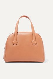 Sporty Bowler small leather tote