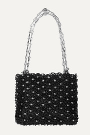 1969 crystal-embellished chainmail shoulder bag