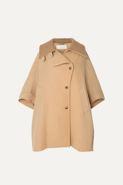 Chloé Oversized wool and cashmere-blend cape