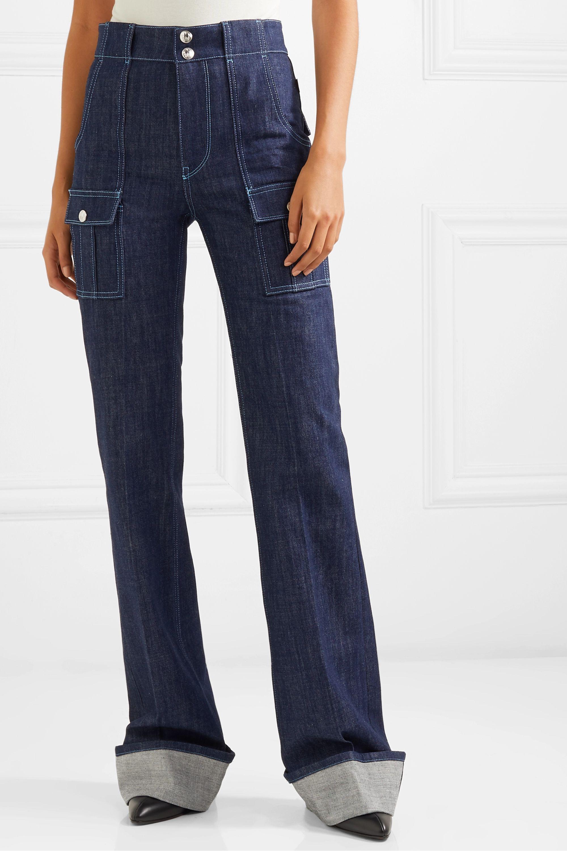 Chloé High-rise bootcut jeans