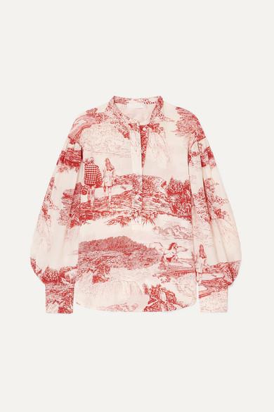 Chloé Tops Printed silk crepe de chine blouse