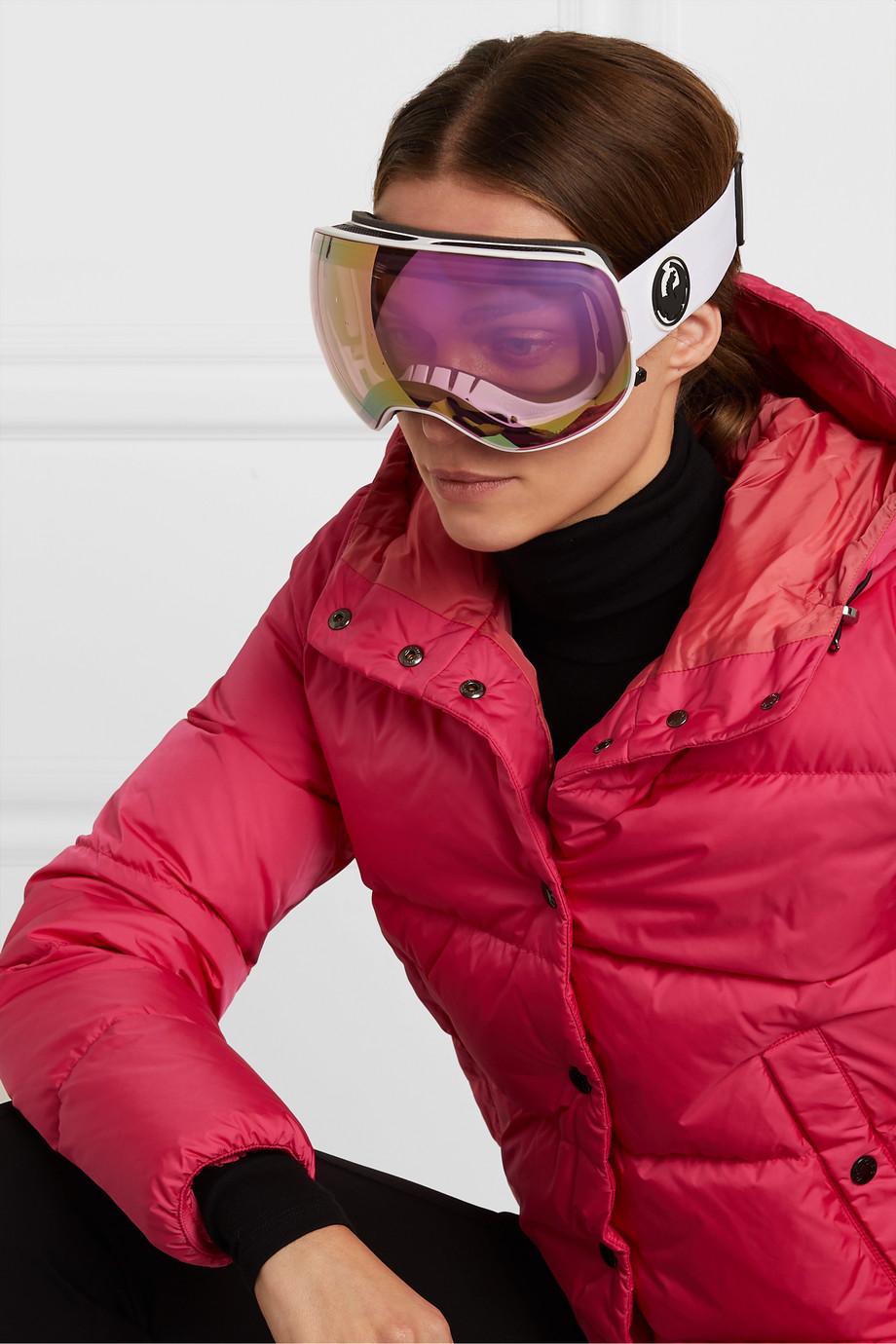 Dragon X2 mirrored ski goggles