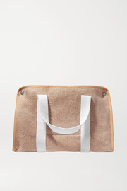 Kassl Editions Small canvas-trimmed wool-felt tote