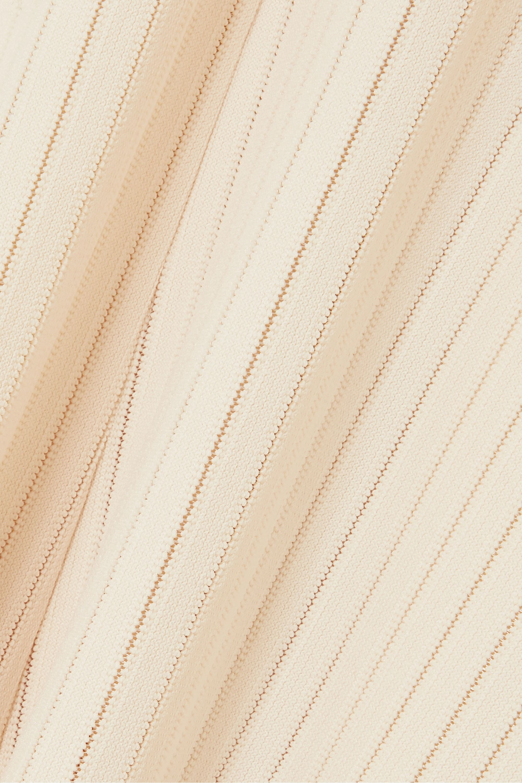 A.W.A.K.E. MODE Renton ribbed-knit midi dress