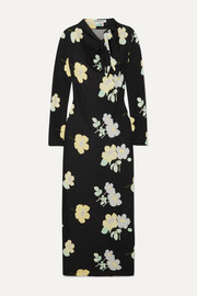 Jil floral-print stretch-jersey maxi dress