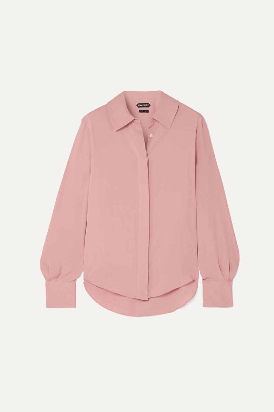 TOM FORD Silk crepe de chine blouse