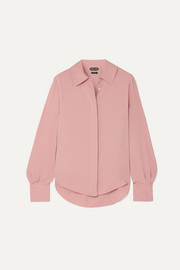 TOM FORD Silk crepe de chine blouse