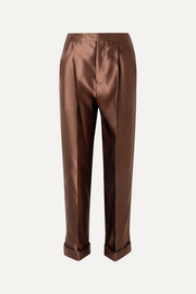 TOM FORD Silk-satin pants