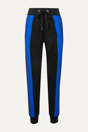 Powerhouse striped stretch track pants