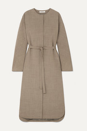 LE 17 SEPTEMBRE Autumn belted woven midi dress
