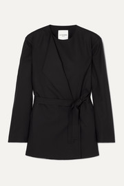LE 17 SEPTEMBRE Belted wool jacket