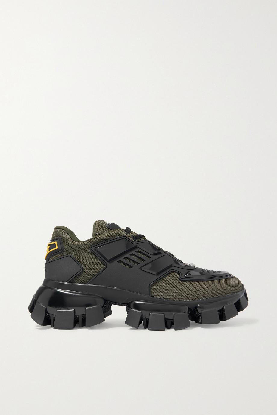 Prada Thunder mesh and rubber sneakers