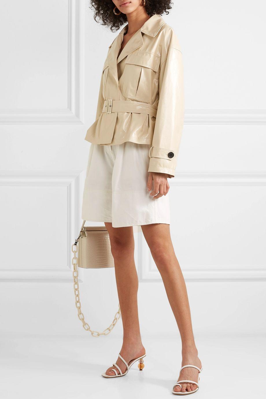 Frankie Shop PVC jacket