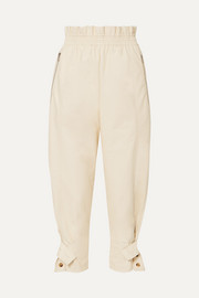 Frankie Shop Xenia faux-leather tapered pants