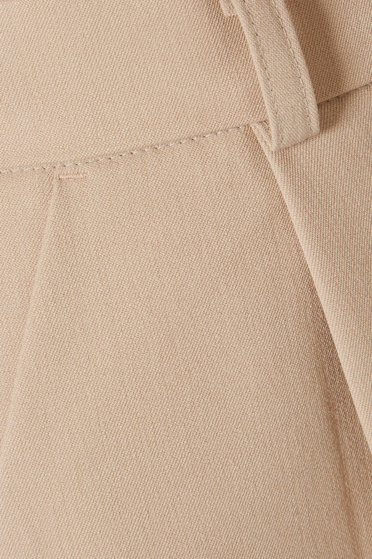Frankie Shop Julie gabardine shorts