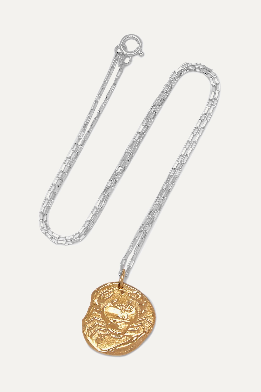 Alighieri The Scattered Decade Kette aus Silber mit Goldauflage