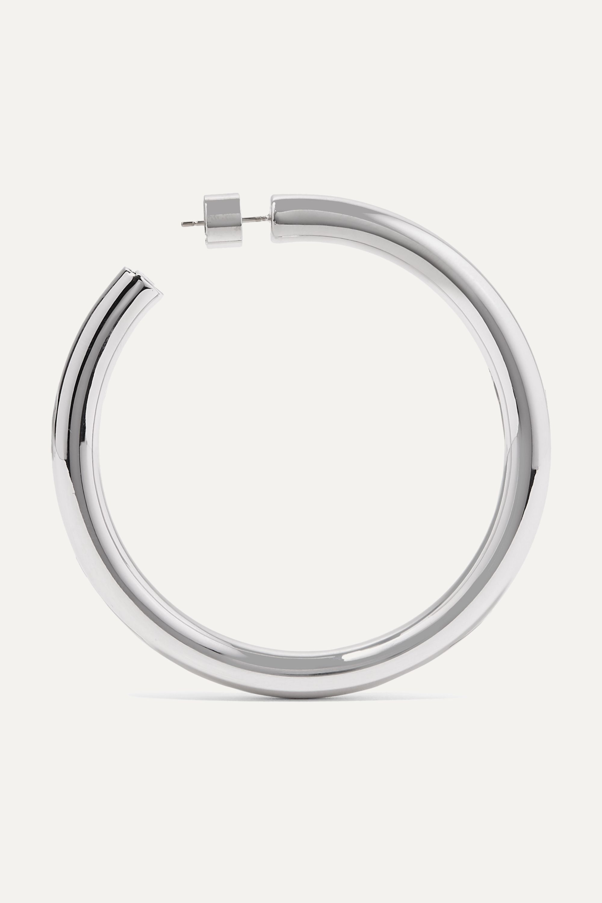 Jennifer Fisher Samira silver hoop earrings