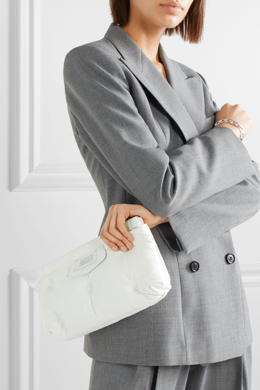 Maison Margiela Glam Slam leather shoulder bag