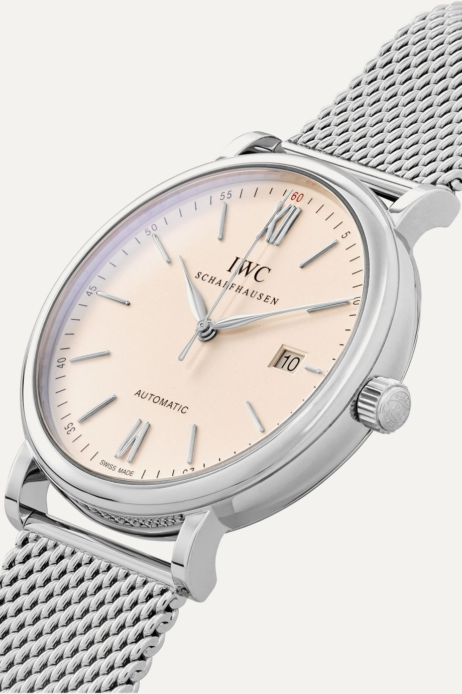 IWC SCHAFFHAUSEN Portofino Automatic 40 stainless steel watch
