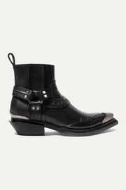 Balenciaga Santiag leather ankle boots