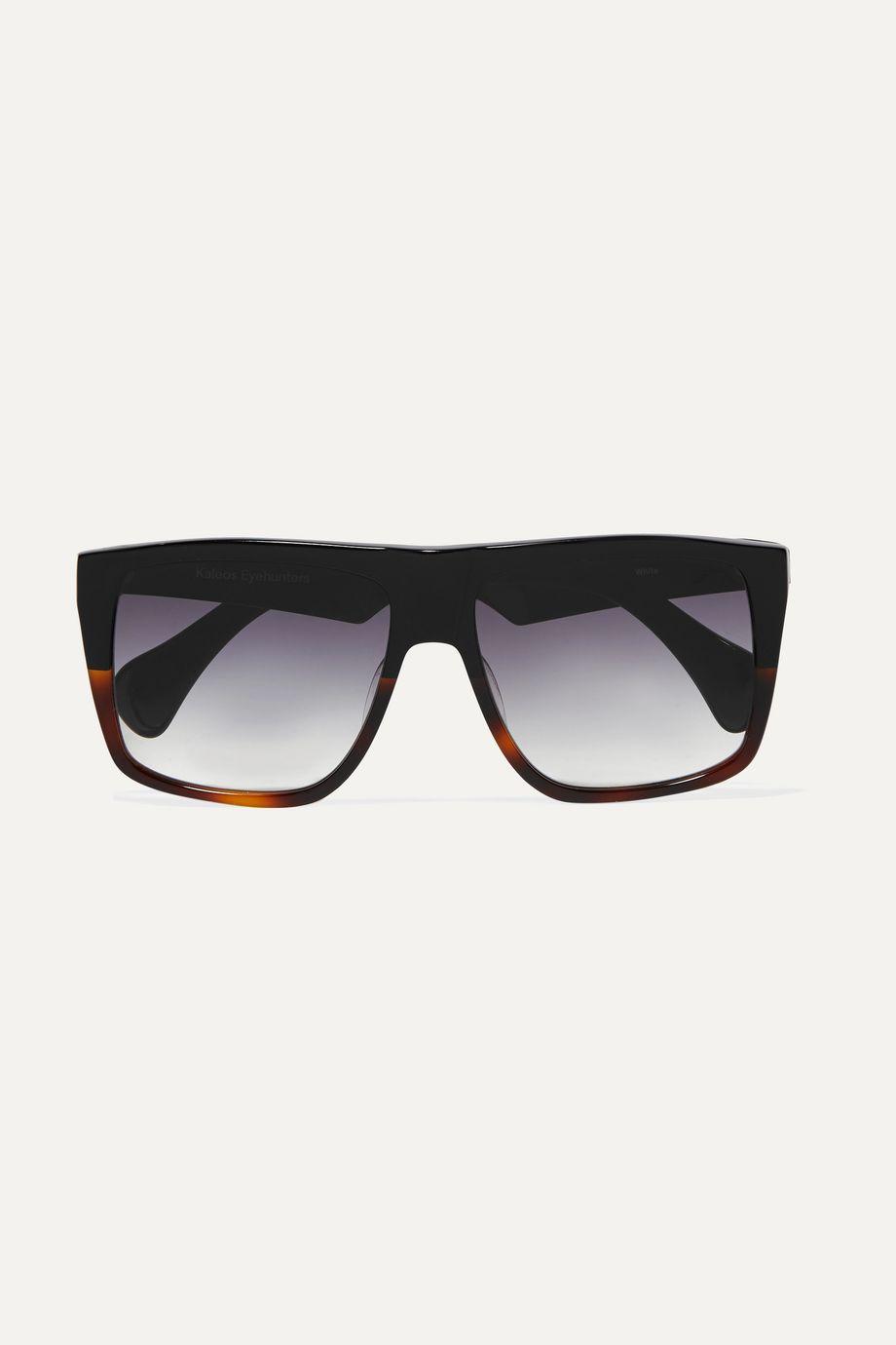 Kaleos D-frame acetate sunglasses