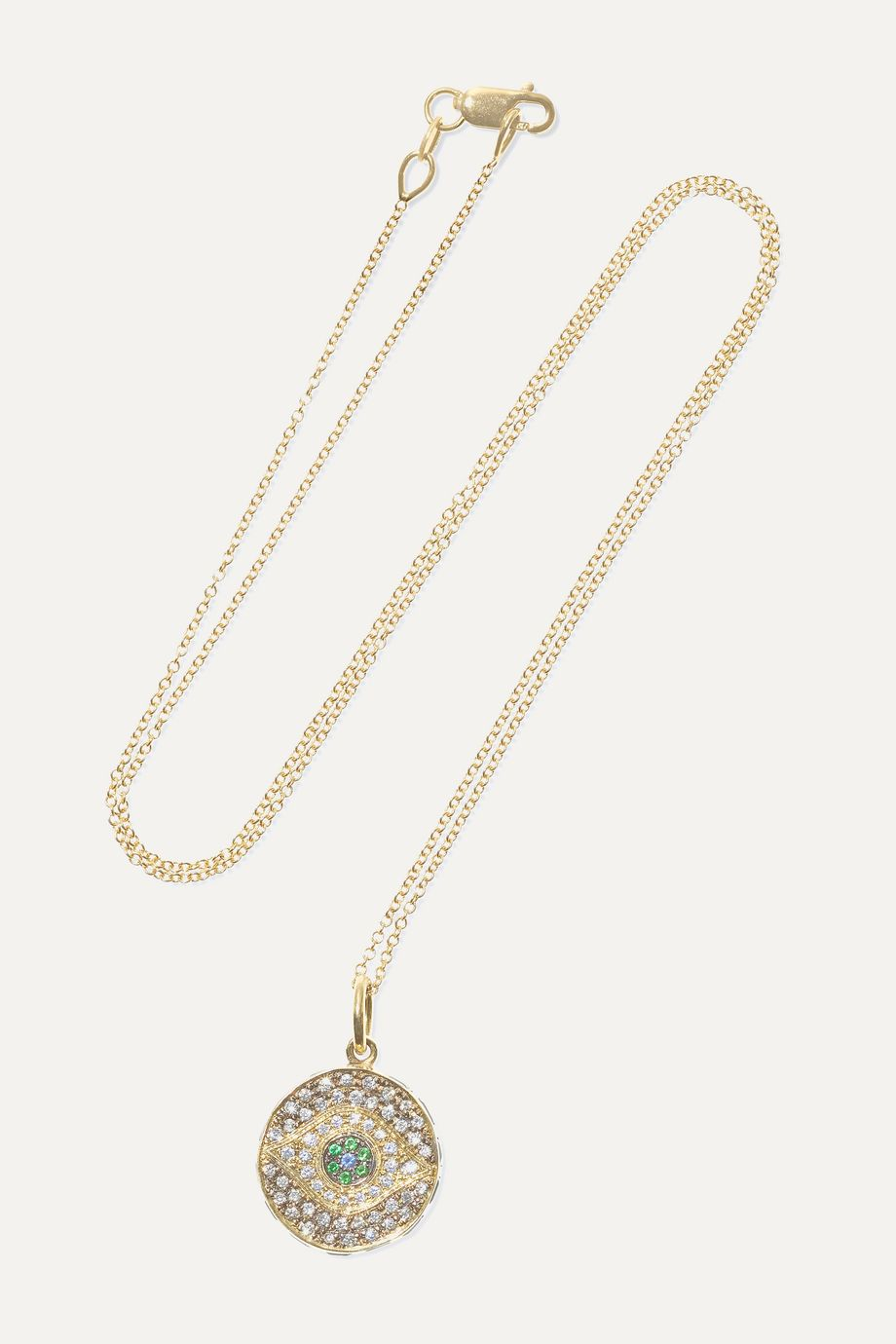Ileana Makri Dawn Candy 18-karat gold multi-stone necklace