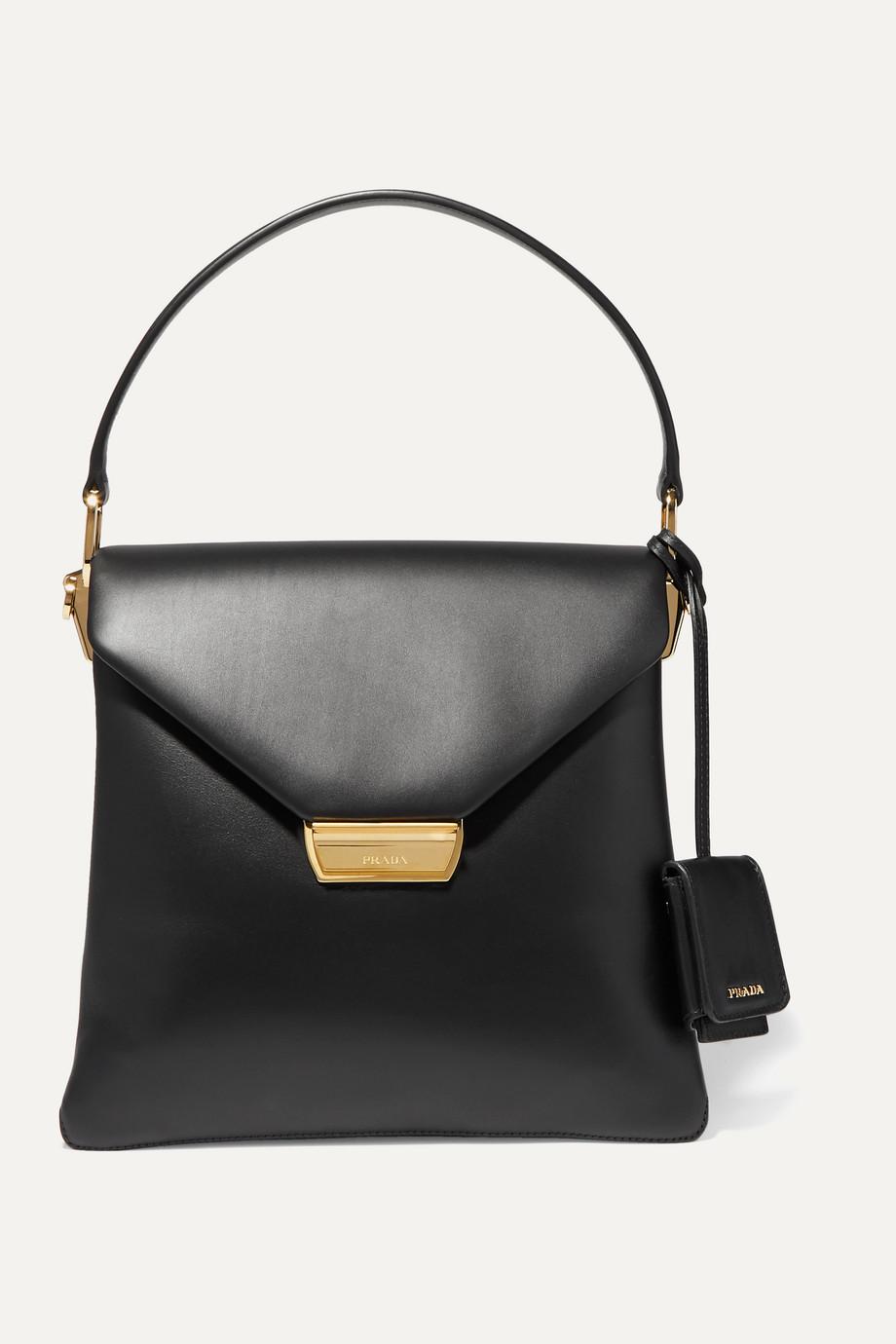 Prada Ingrid large leather tote