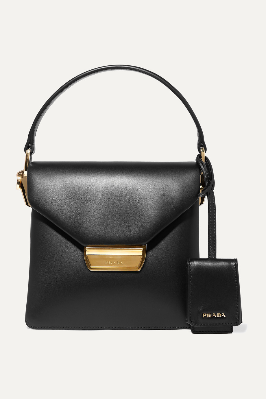 Prada Ingrid small leather tote