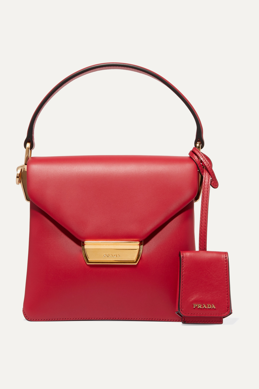 Prada Ingrid small leather shoulder bag