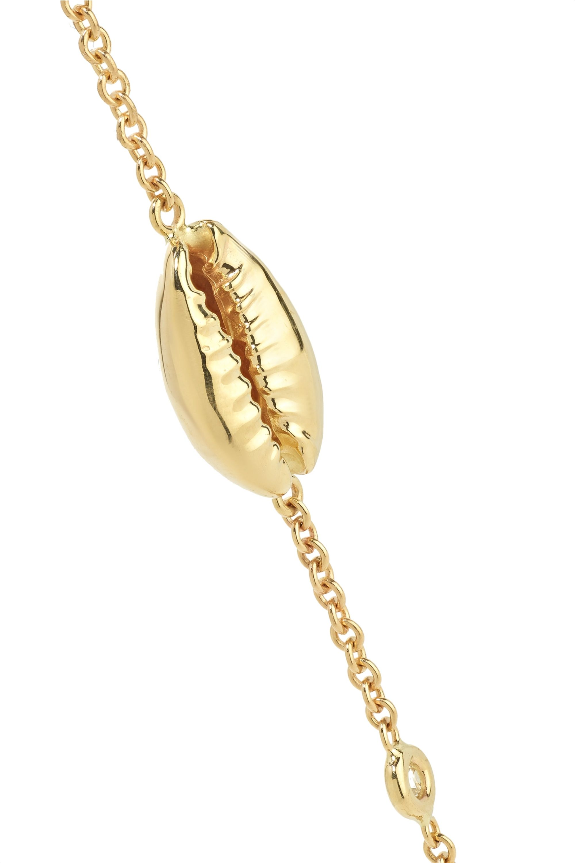 Jacquie Aiche 14-karat gold diamond choker