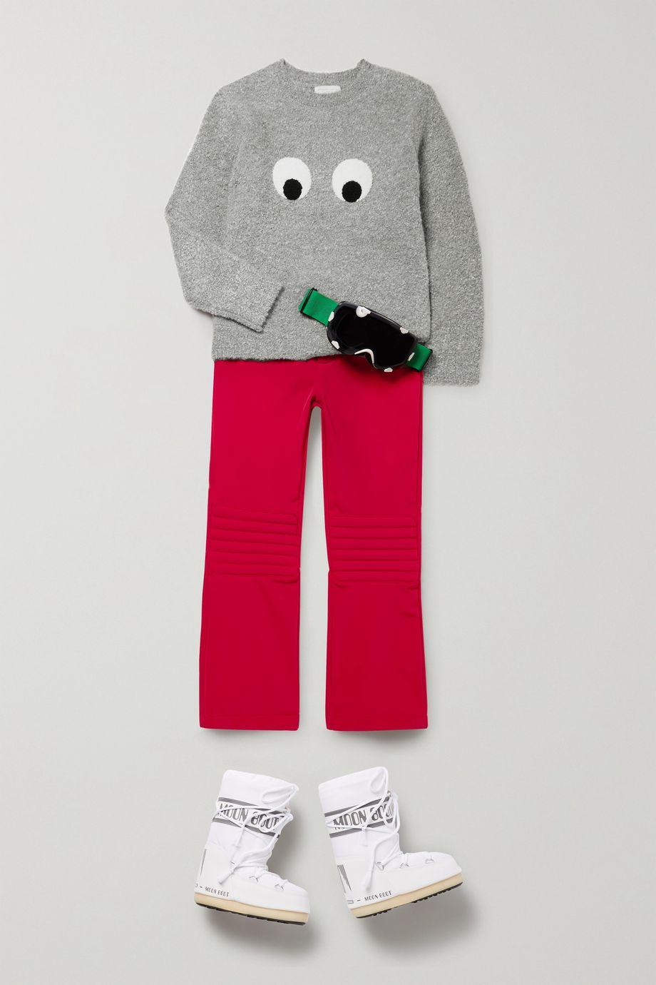 Moon Boot Kids 4–10 Jahre – Schneestiefel aus Shell und Kunstleder