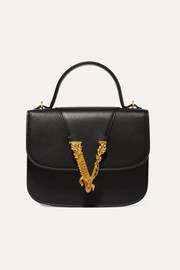 Virtus small leather tote