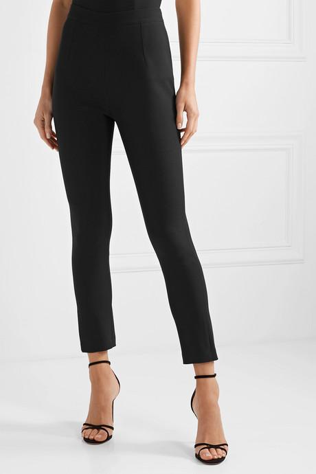 Adrianna crepe slim-leg pants
