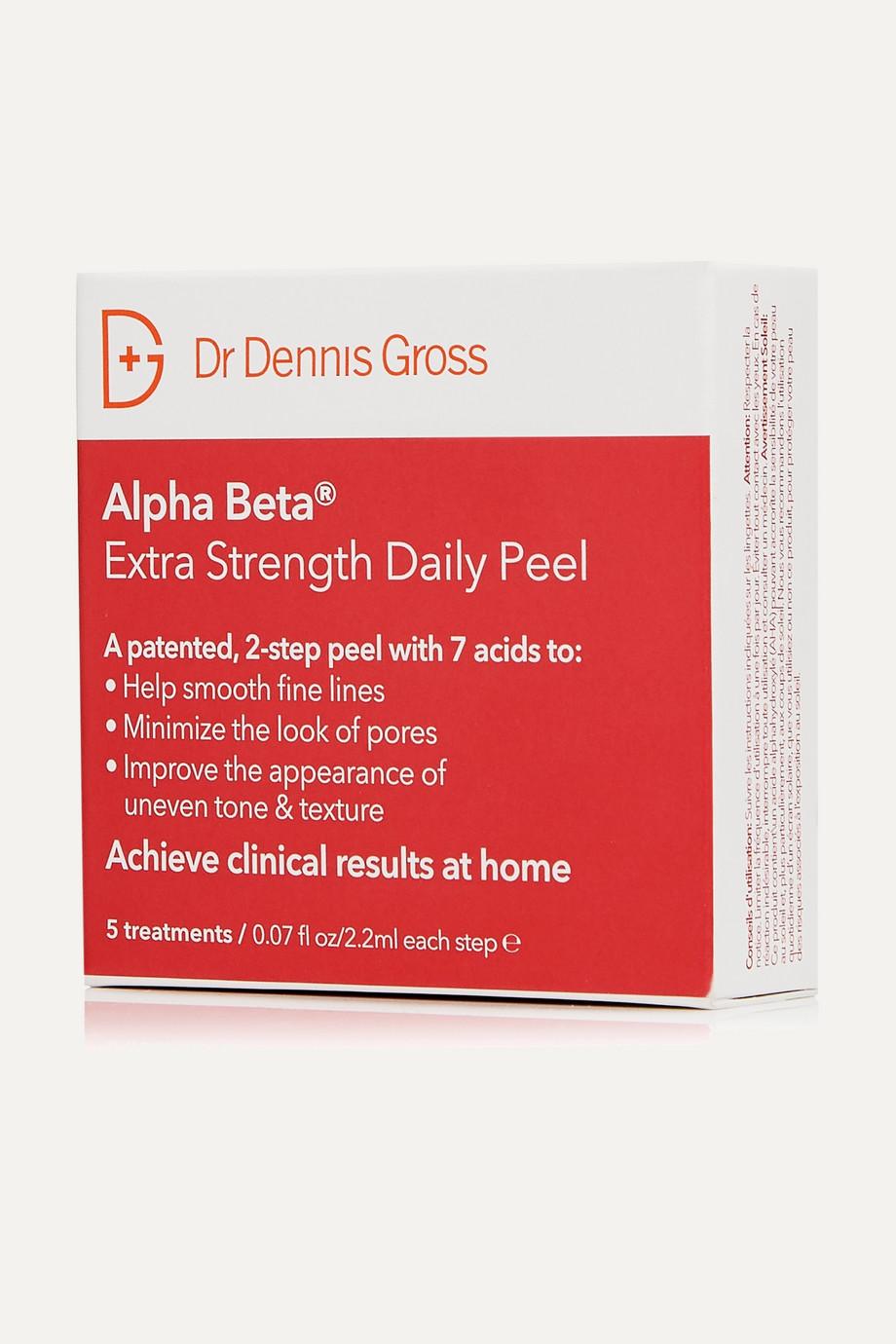 Dr. Dennis Gross Skincare Peeling quotidien extra-fort Alpha Beta®, 5 jours