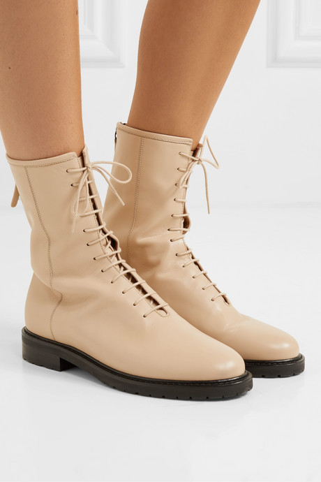 08 leather ankle boots
