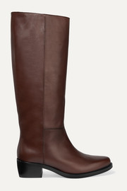 LEGRES 06 leather knee boots