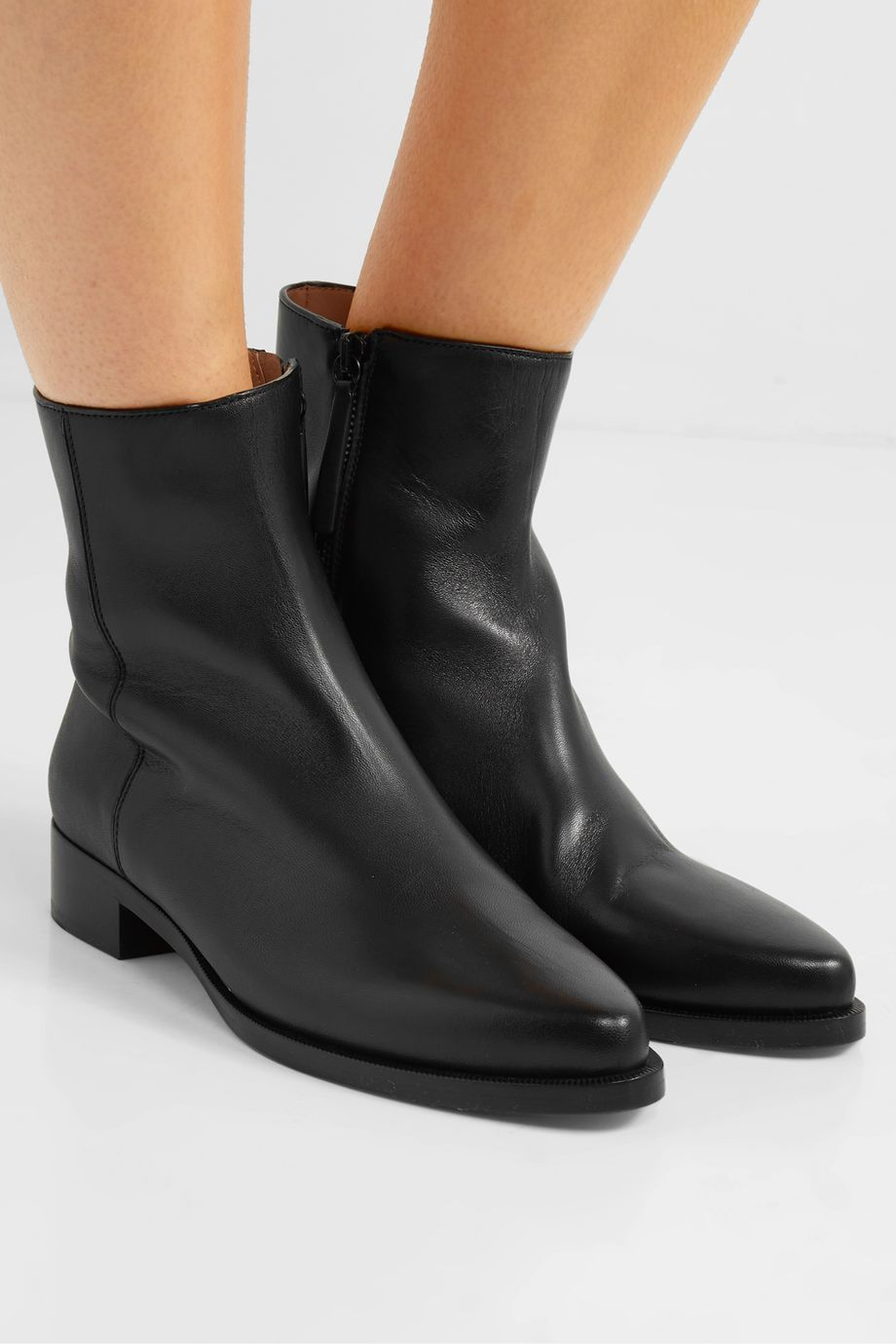 LEGRES 01 leather ankle boots